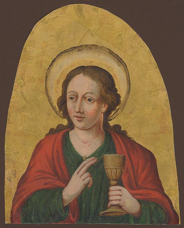 Slovenský maliar okolo 1. polovice 19. storočia - Svätý Ján Evanjelista