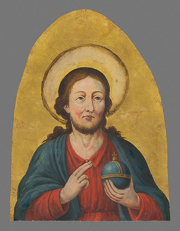 Slovenský maliar okolo 1. polovice 19. storočia - Poprsie Krista