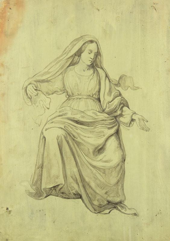 Stredoeurópsky maliar z konca 19. storočia – Madona