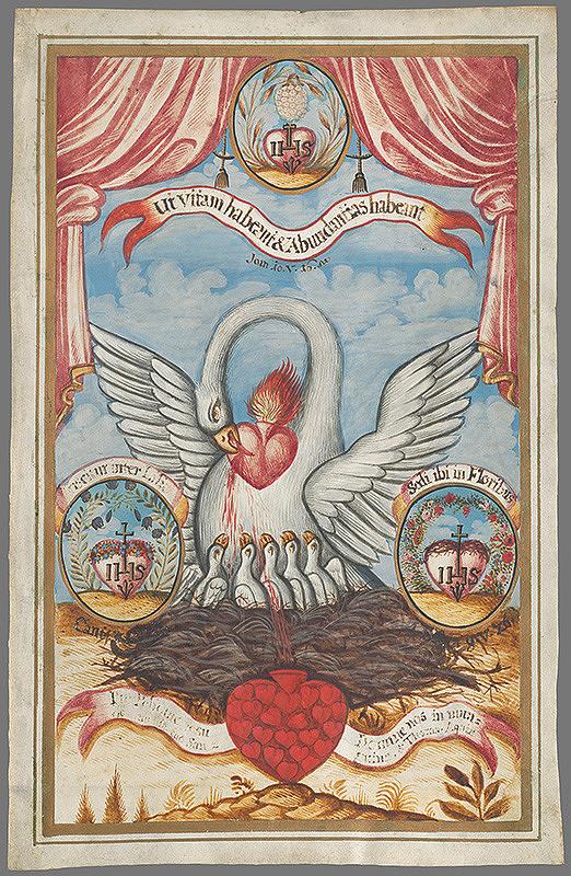 Stredoeurópsky autor z 19. storočia - Symbol cirkvi