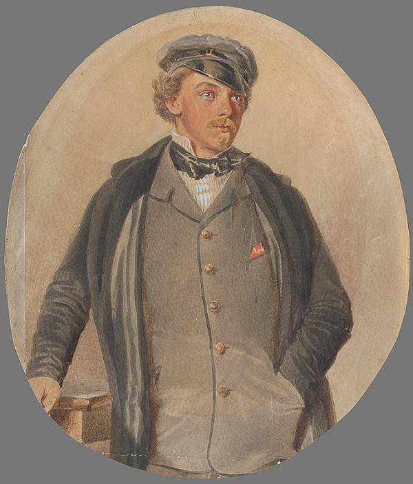 Károly Sterio – Portrét Wilhelma Collosea