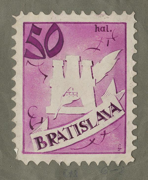 Ján Ladvenica – Návrh na päťdesiathalierovú známku