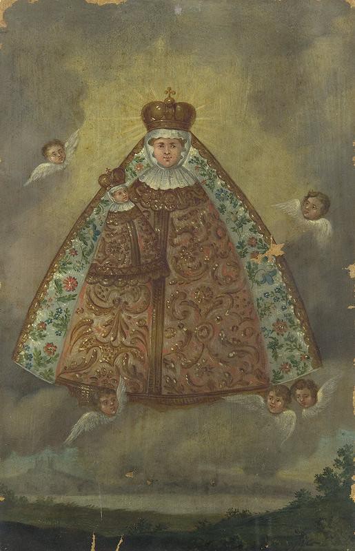 Stredoeurópsky maliar zo začiatku 19. storočia – Madona s dieťaťom