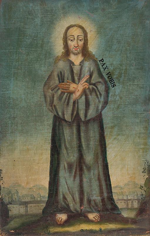 Stredoeurópsky maliar z 2. polovice 18. storočia - Kristus