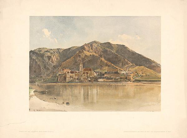 Rudolf Alt – Pohľad na Dürnstein