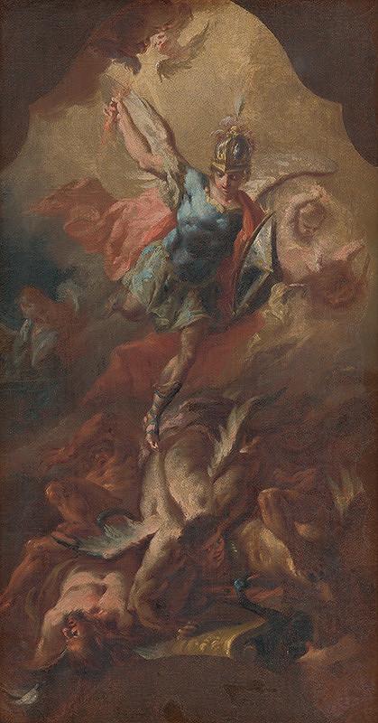Stredoeurópsky maliar okolo polovice 18. storočia, Franz Xaver Carl Palko - Michal archanjel poráža Lucifera
