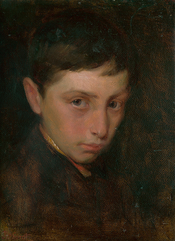 Ľudovít Pitthordt - Portrét chlapca