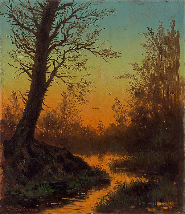 Eduard Majsch - Lesná krajina