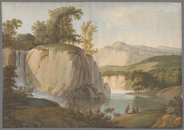Stredoeurópsky maliar z 2. polovice 19. storočia - Krajina s jazerom