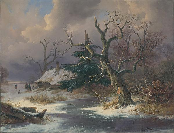 Remigius Adrianus Haanen - Zimná krajina