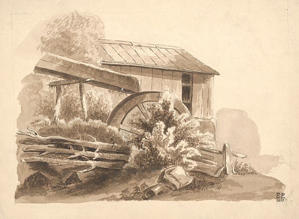 E.P. Monogramista – Starý mlyn