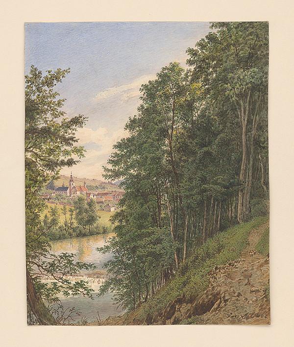 Jakob Alt – Na brehu rieky
