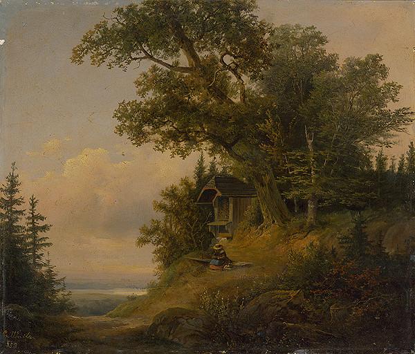 G. Waitz - Lesná krajina