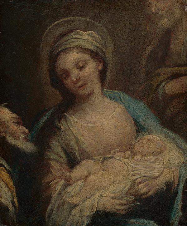Stredoeurópsky maliar z 1. polovice 18. storočia - Narodenie Krista