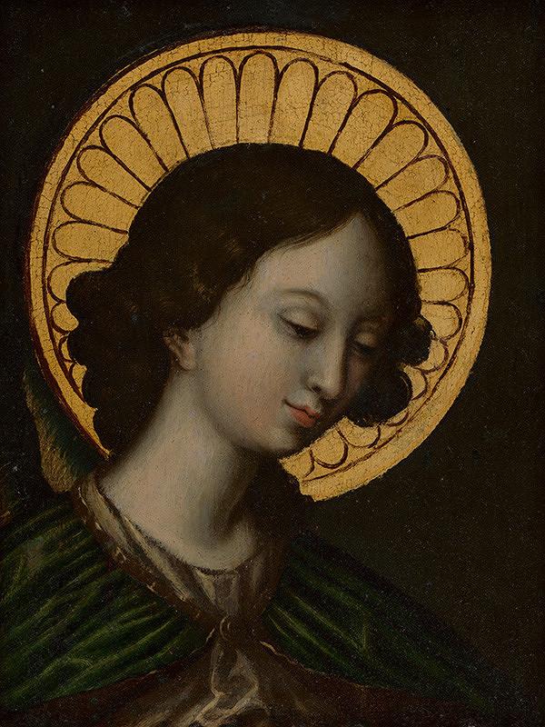 Stredoeurópsky maliar z 2. polovice 18. storočia – Anjel zo scény Zvestovania