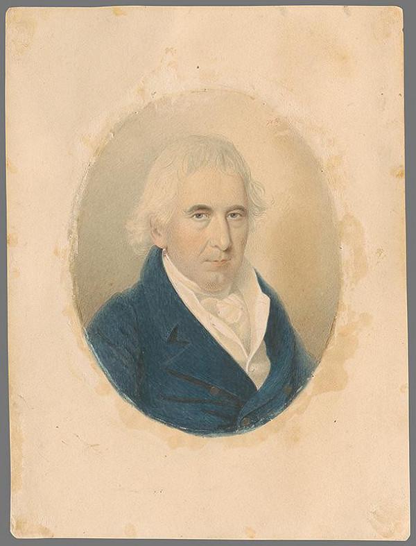 A. Johansen – Portrét bratislavského mešťanostu Krištofa Burgstallera