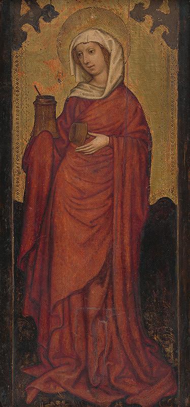 Bratislavský majster z 1. polovice 15. storočia – Svätá Mária Magdaléna