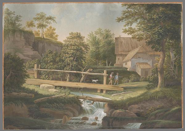 Rudolf Lang – Krajina s mostom