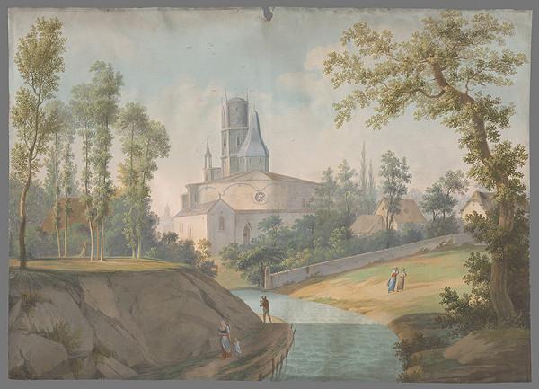 Rudolf Lang – Krajina s kostolom