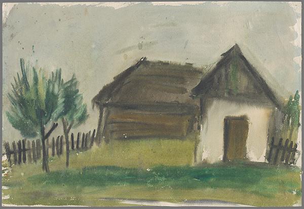 Slovenský maliar z 1. polovice 20. storočia - Na konci dediny