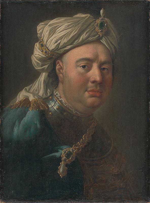 Ján Kupecký, Adam de Manyöki, Martin de Meytens – Portrét Gustava Adolfa von Gotter v turbane