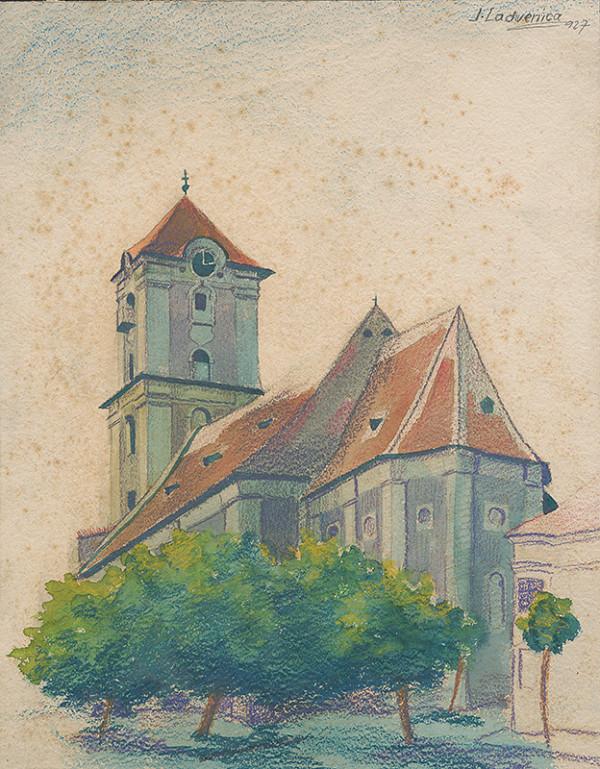 Ján Ladvenica – Kostol v Pezinku