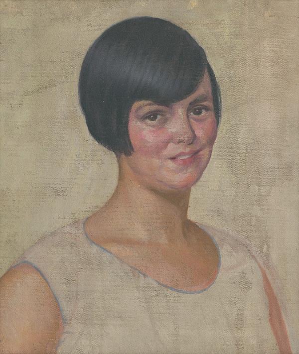 Ivan Žabota - Portrét ženy