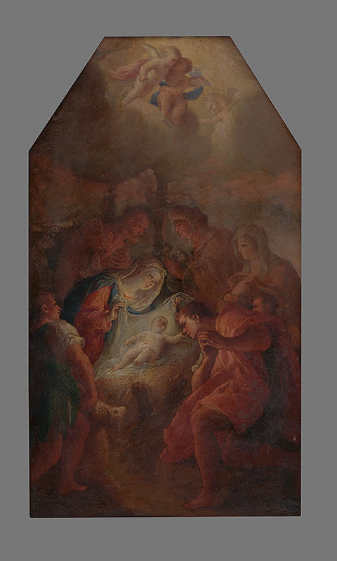 Felice Riccio - Narodenie Krista