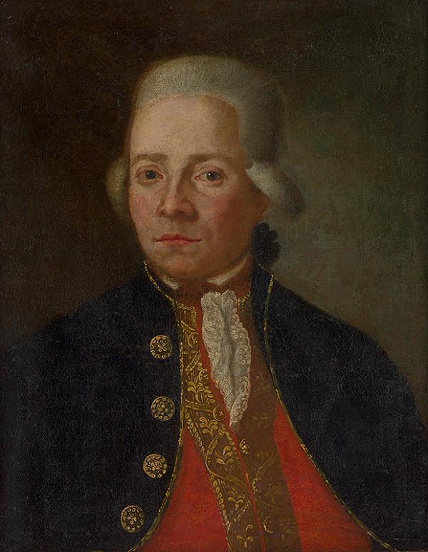 Stredoeurópsky maliar z konca 18. storočia – Portrét muža v parochni