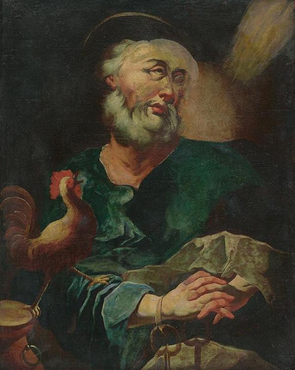 Stredoeurópsky maliar z 2. polovice 18. storočia – Svätý Peter