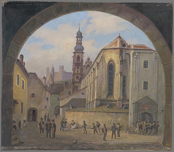 Karol Frech - Bratislavský klariský kostol