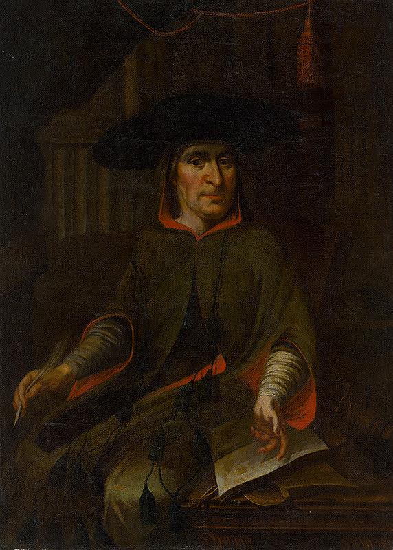 Stredoeurópsky maliar z 18. storočia - Portrét prepošta Juraja Schönberga