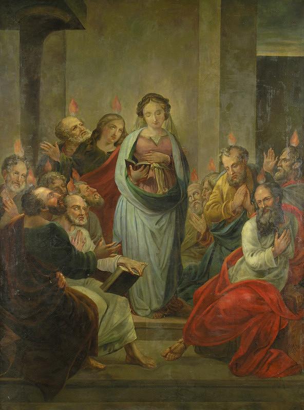 Ferdinand Karl Theodor Lütgendorff – Zoslanie Ducha Svätého
