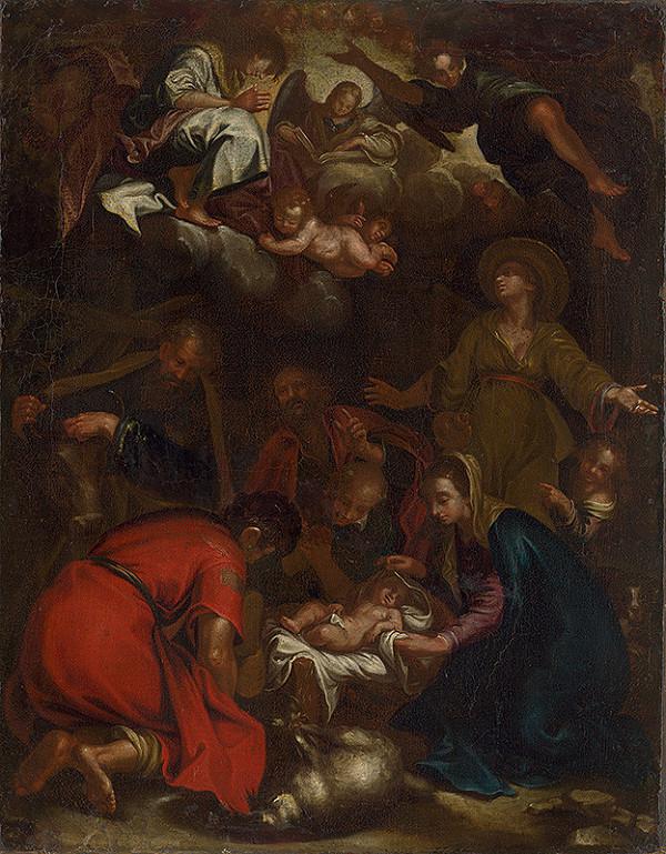Stredoeurópsky maliar z 1. polovice 18. storočia, Abraham Bloemaert – Klaňanie pastierov