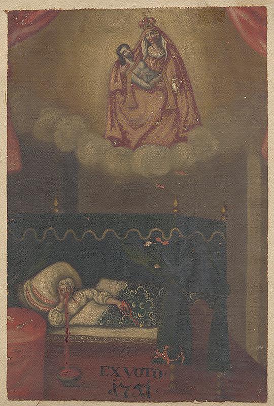 Slovenský maliar z polovice 18. storočia - Votívny obraz