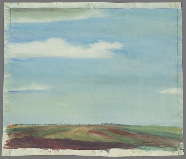 Július Schubert - Rovinatá krajina