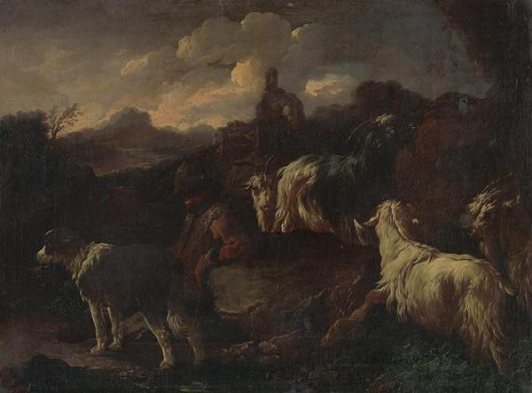 Philipp Peter Roos – Pastierska scéna