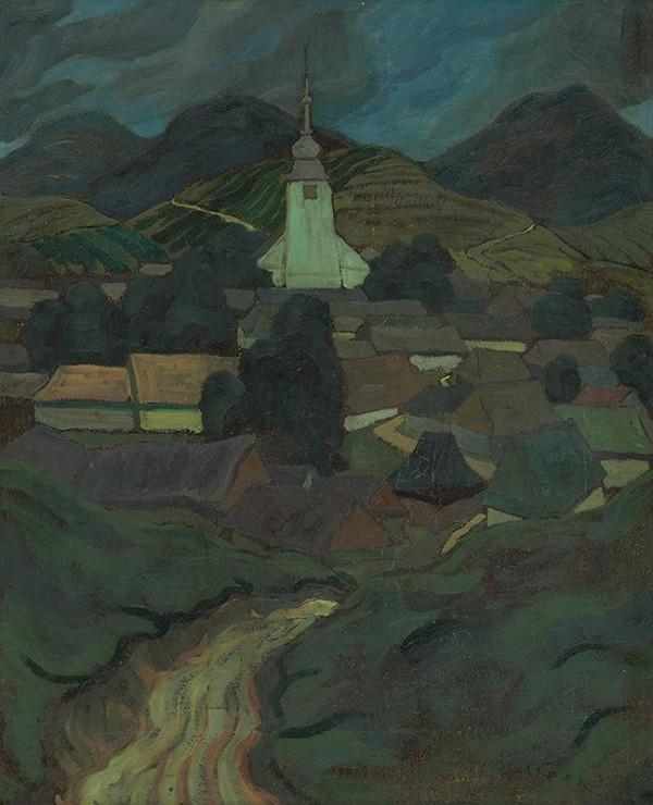 Edmund Gwerk – Oravská dedina