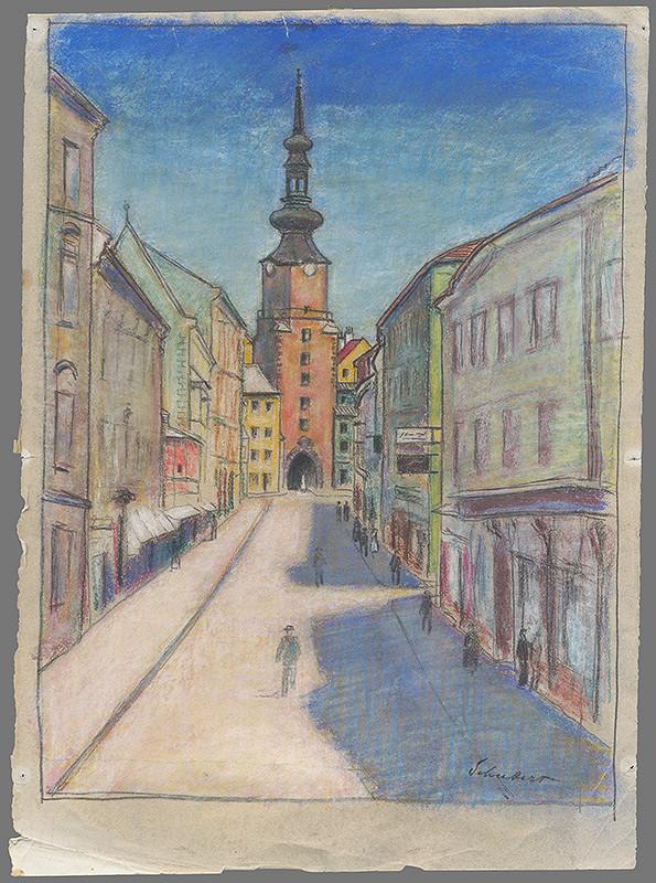Július Schubert – Michalská brána