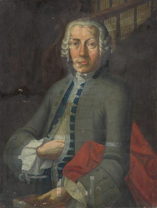 Stredoeurópsky maliar z 2. polovice 18. storočia – Portrét pána von Windischa