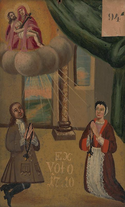 Slovenský maliar zo začiatku 18. storočia - Votívny obraz