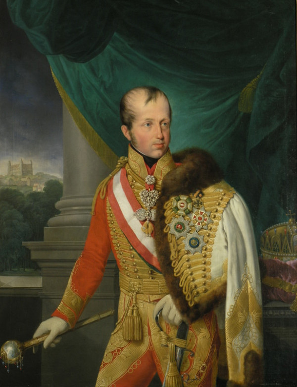 Friedrich Johann Gottlieb Lieder – Portrét Ferdinanda V.