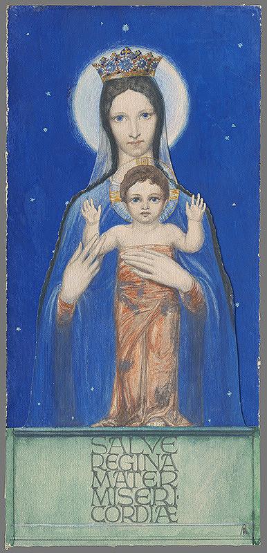 Alojz Rigele – Mária s dieťaťom