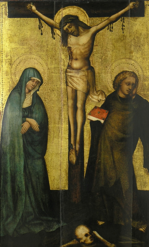 Majster z Laufenu - Ukrižovanie Krista