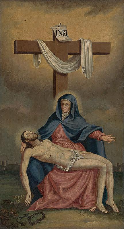 Stredoeurópsky maliar z 3. tretiny 19. storočia - Pieta