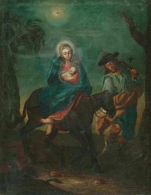 Stredoeurópsky maliar z 2. polovice 18. storočia - Útek do Egypta