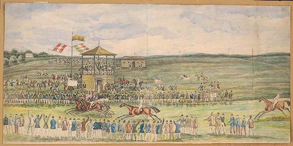 Antal József Strohmayer – Prvé konské dostihy v Bratislave 27. októbra 1839