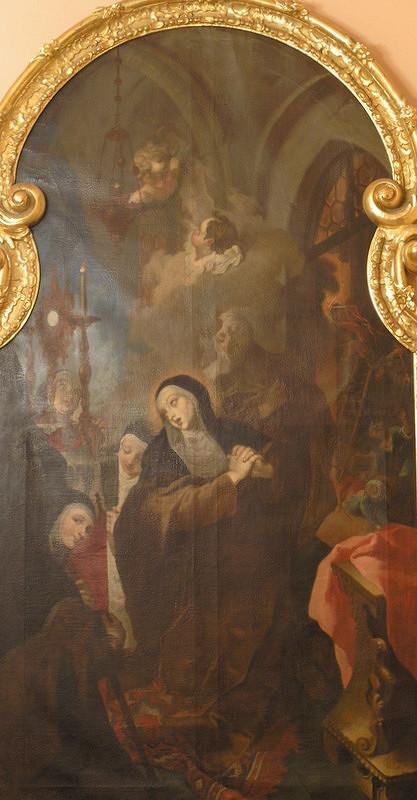 Franz Anton Palko - Svätá Klára