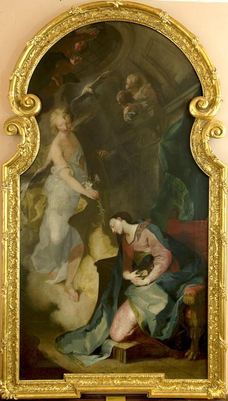 Franz Anton Palko - Zvestovanie Panne Márii
