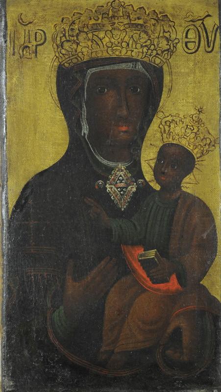 Východoeurópsky maliar z prelomu 17. - 18. storočia, Stredoeurópsky maliar z 1. polovice 18. storočia – Kópia obrazu Panny Márie svätotomskej
